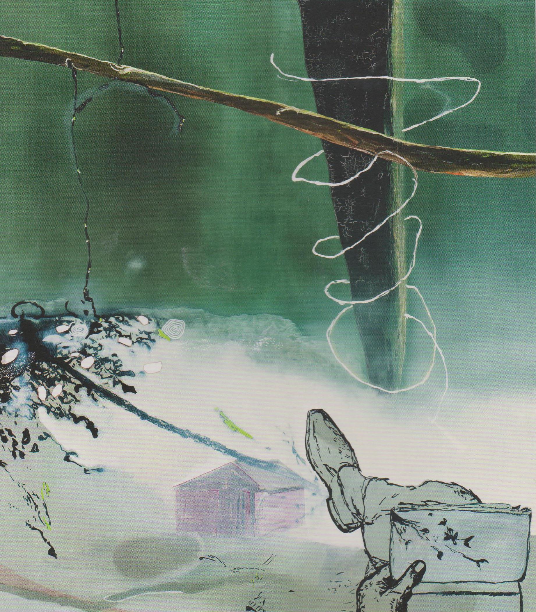 Der Natur entnommen, 2008 oil on canvas 155x135cm