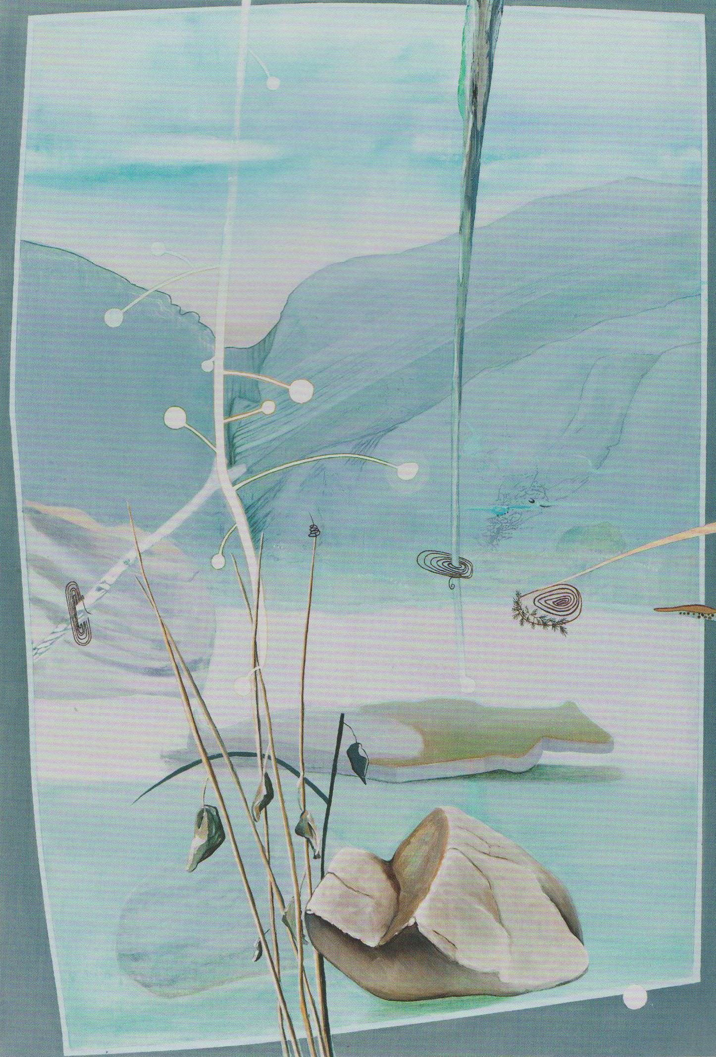 Taurus-Gebirge V, 2009 oil on canvas 220x150cm