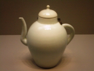 White porcelain ewer, 18th-19th century AD, Korea