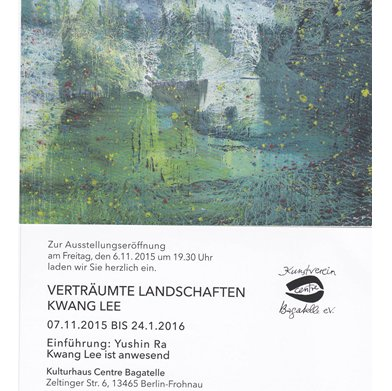 Exhibition: Verträumte Landschaften by Kwang Lee
